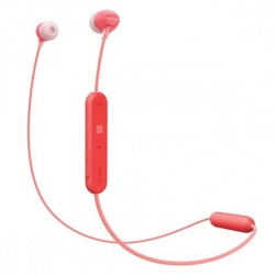 SONY Ecouteurs WIC-300 Rouge