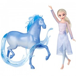 HASBRO Poupées Elsa et Nokk...