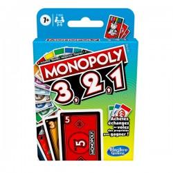 HASBRO GAMING Monopoly 3, 2, 1