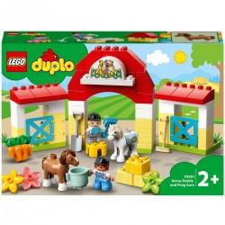 LEGO DUPLO L'écurie et les...