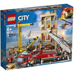 LEGO City Les pompiers du...